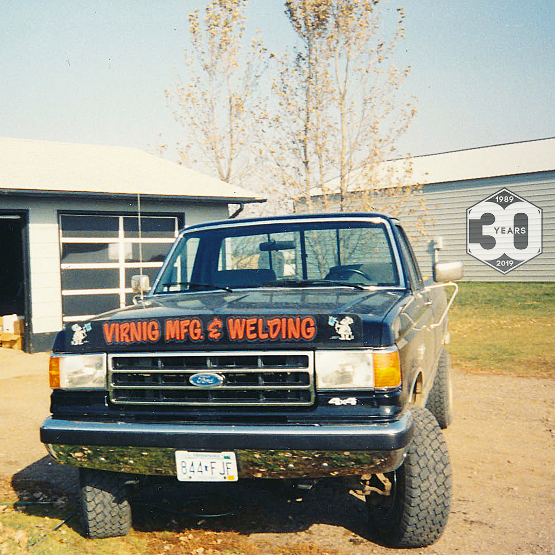 Virnig's second work truck, a 1991 Ford F250
