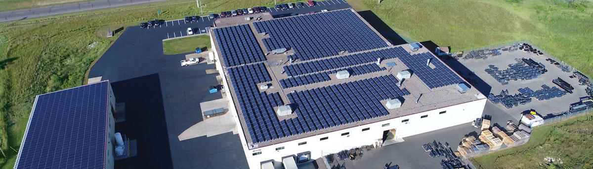 Virnig Powers 40 Percent of Business Through Solar Energy