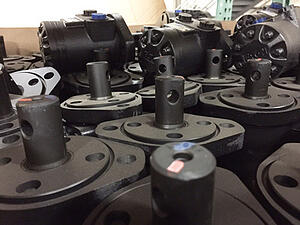 Eaton Motors for Skid Steer Snow Blower Attachments