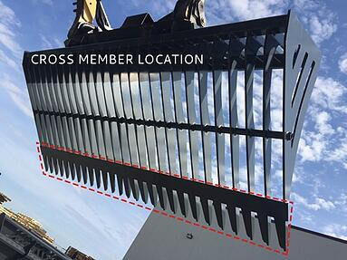 Grapple Cross Member Location