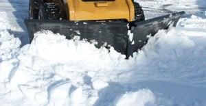 V-SNOW BLADE SKID STEER ATTACHMENT