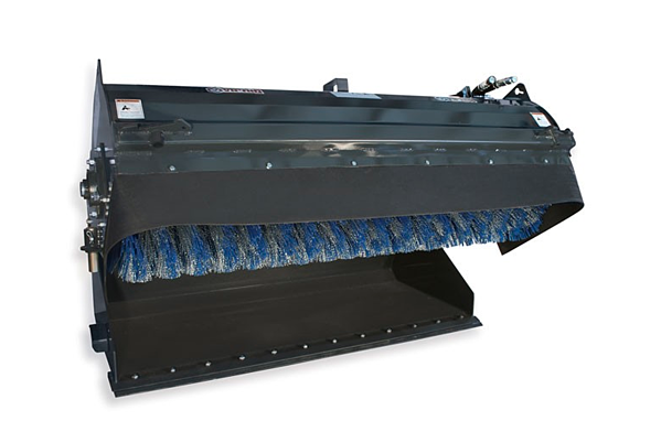 image of a Virnig Manufacturing Pick-Up Broom Attachment