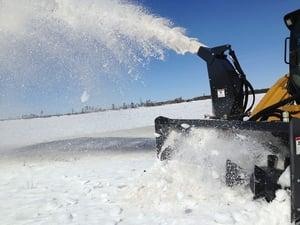 Skid Steer Snow Blower Innovation