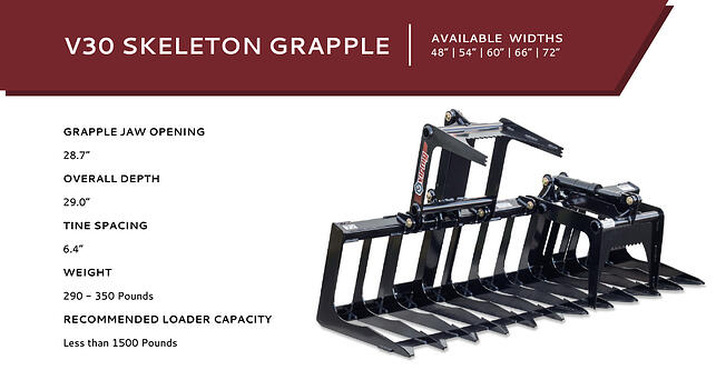 V30 Skeleton Grapple